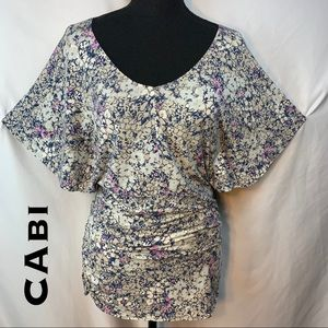 CAbi Ruched Blouse